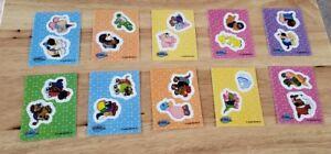 Webkinz Series 3 Master Set Dress Up Profilez Sparkle Stickers Base 148 Cards