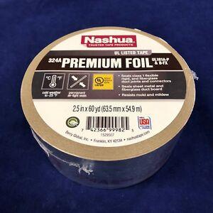 "3 Rolls Of 3M 3340 2-1//2/"" x 150/' HVAC Foil Tape UL181A-P Recall Approved"