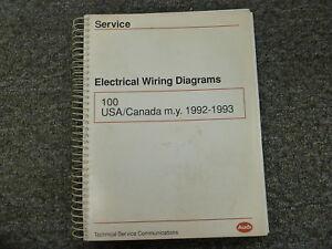 image is loading 1992-1993-audi-100-quattro-sedan-wagon-electrical-