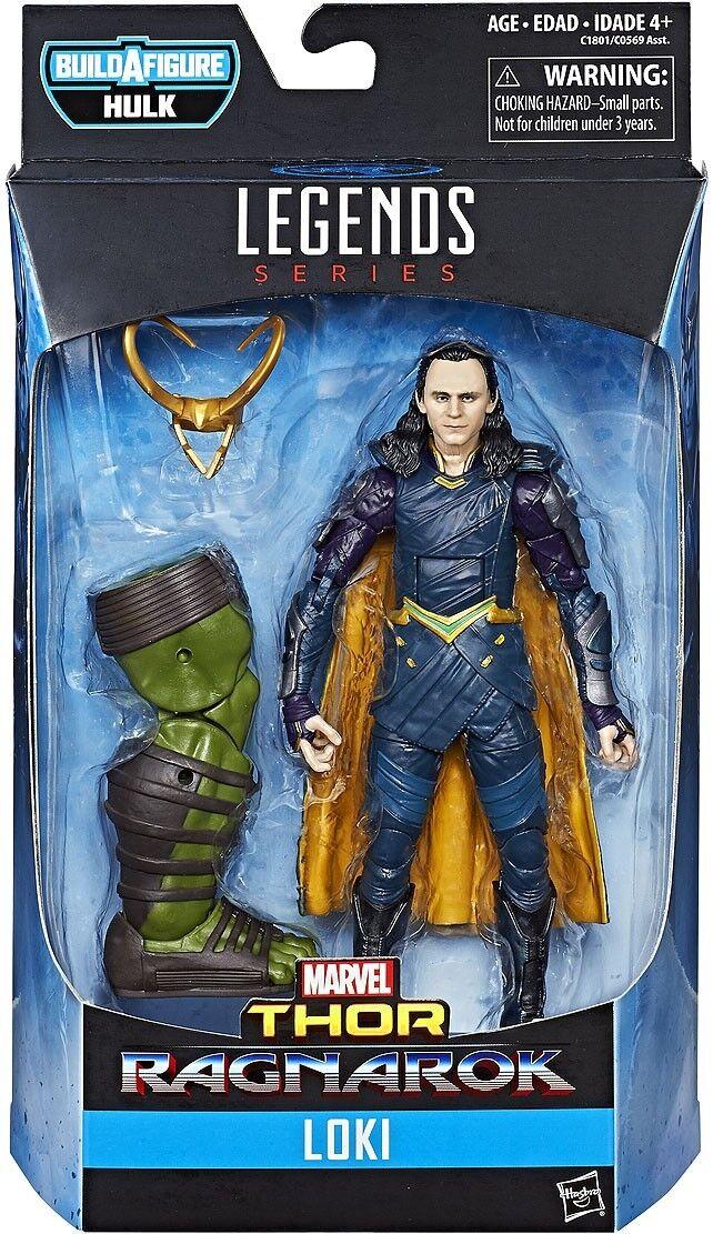 Thor Ragnarok Marvel Legends Hulk Hulk Hulk Series Loki Action Figure 4ae756