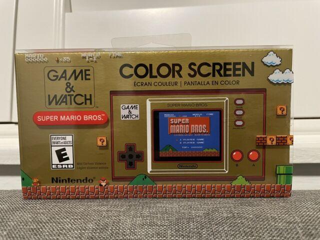 Nintendo Game and Watch: Super Mario Bros .