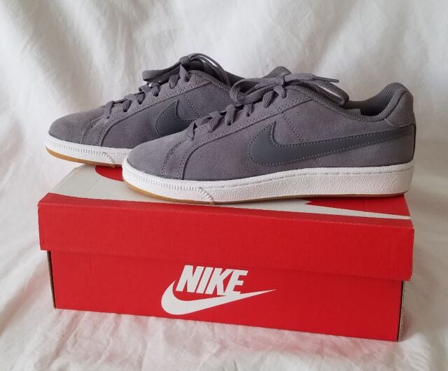 Royale Court Shoes Gunsmokegray Womens Nike 6 Sneakers Suede For 0wOk8PNnX