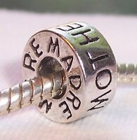 Mother Madre Mere Family Ring Bead For Silver European Style Charm Bracelets