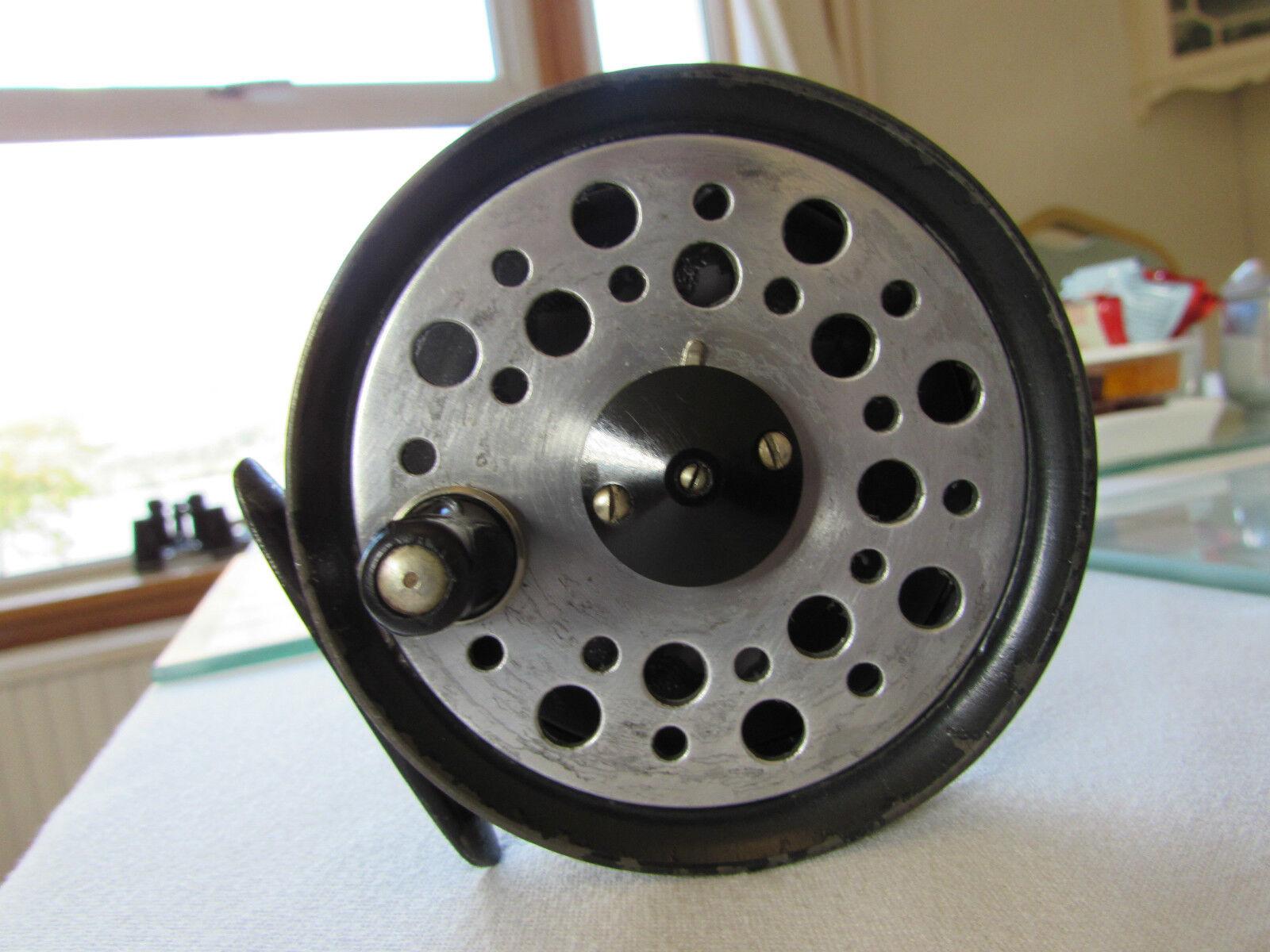 V buen Vintage Youngs temprano beaudex Trucha Pesca Con Mosca Cocherete 3.5  + lineguard. .