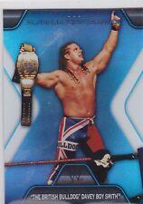 "2010 TOPPS WWE PLATINUM BRITISH BULLDOG ""PERFORMANCE"" INSERT WRESTLING CARD #PP-"