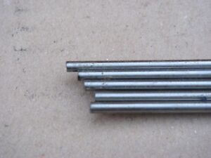 5 LENGTHS OF 3mm GENUINE STUBBS SILVER STEEL x 330mm. MODEL MAKER. LIVE STEAM