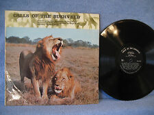 Michael Mayer, Calls Of The Bushveld, WL 2, 1967, Sound Effects, Field Recording