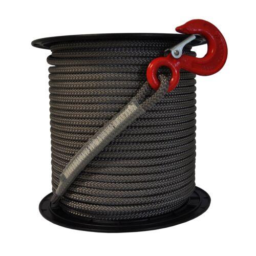 Recambio de cuerda rojo para spillwinde cabrestante vf80 100m con gancho