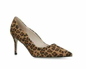 Kurt Geiger Leopard Animal Print Shoes