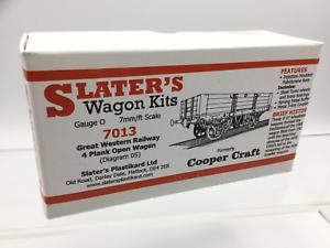 Slaters-7013-O-Gauge-GWR-4-Plank-Open-Wagon-Kit
