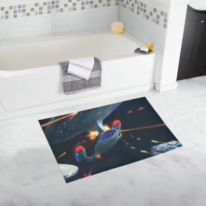 Hot Selling Mat Bathroom Rug Custom Star Trek Non Slip