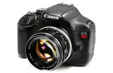 Minolta MC Rokkor PF 58mm f/1.4 for Canon T2i,7D,7DII,70D,T3i,T4i,T5i