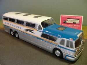 Auto- & Verkehrsmodelle Gewidmet 1/43 Ixo Greyhound Scenicruiser Reisebus 1956