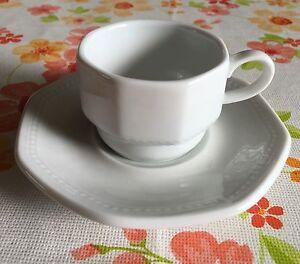 Espresso Set - Tasse und Untertasse weiß - Brunsbek, Deutschland - Espresso Set - Tasse und Untertasse weiß - Brunsbek, Deutschland