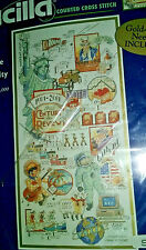 Bucilla The Century Cross Stitch -Memories 1901- 2000 - Limited Edition  #42560