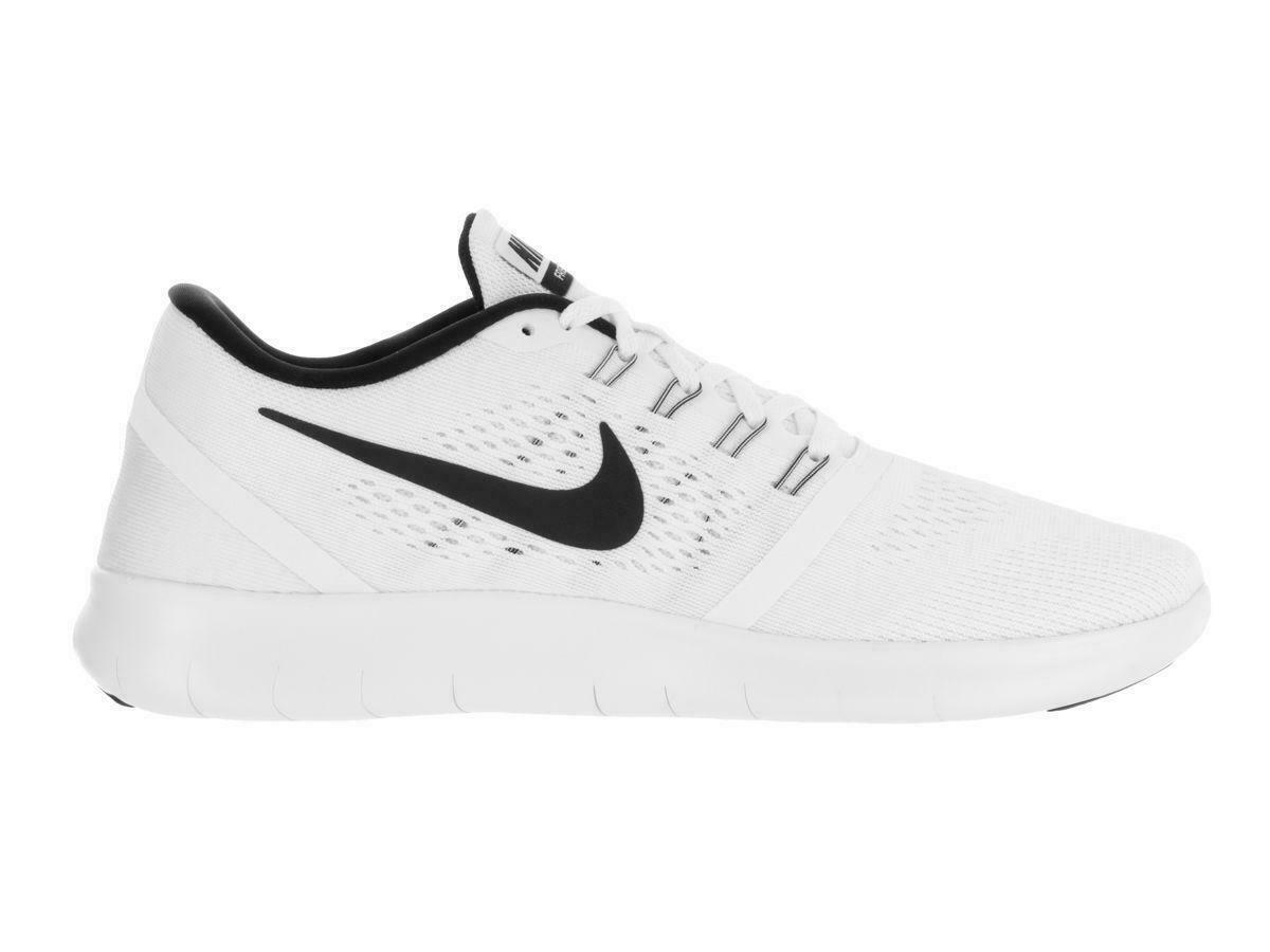 línea hombro Canberra  Mens NIKE FREE RN White Running Trainers 831508 100 | eBay