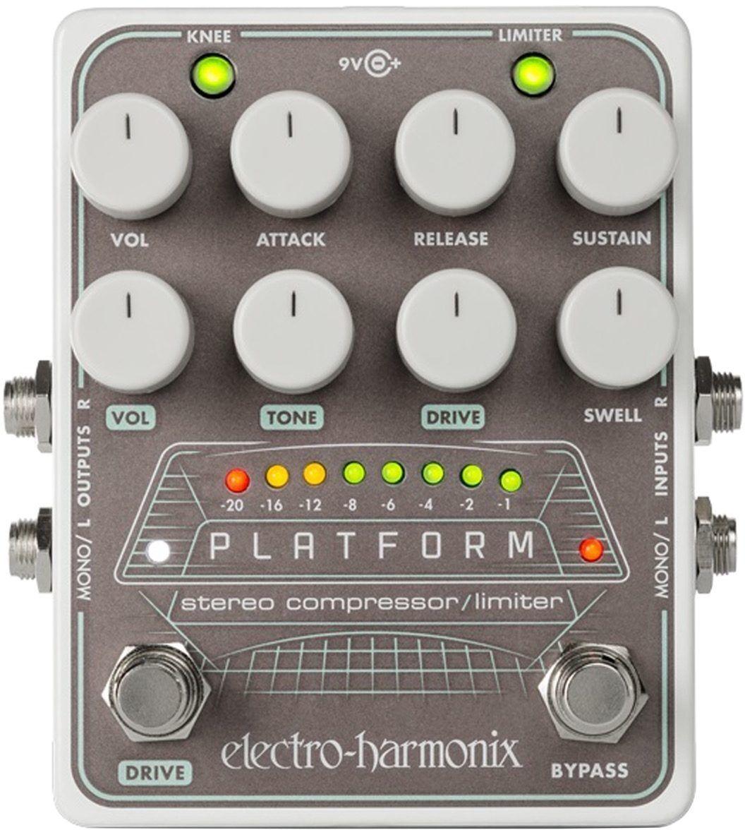 Electro-Harmonix Platform Stereo Compressor Pedal - Authorized Dealer  NEW