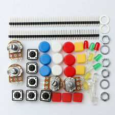 NEW Electronic Parts Pack KIT for ARDUINO component Resistors Switch Button HM