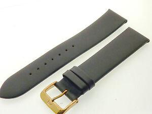 # L210 # Uhrenarmband Leder Bracelet Juwelier QualitÄt 20 Mm Dunkelbraun
