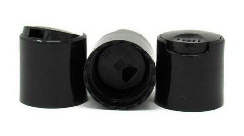 Black Disc Top Dispensing Caps Push Down 28-410 Closure 28//410 100
