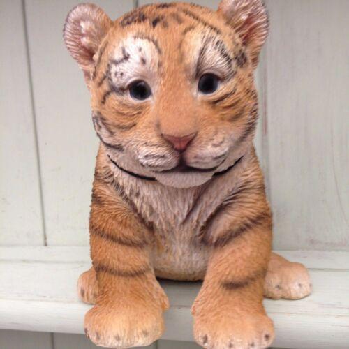 Tiger cub baby vivid arts deco de jardin intérieur extérieur