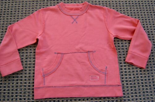 COUNTRY ROAD BOYS OR GIRLS PINKY RED WINDCHEATER TOP SZ 7
