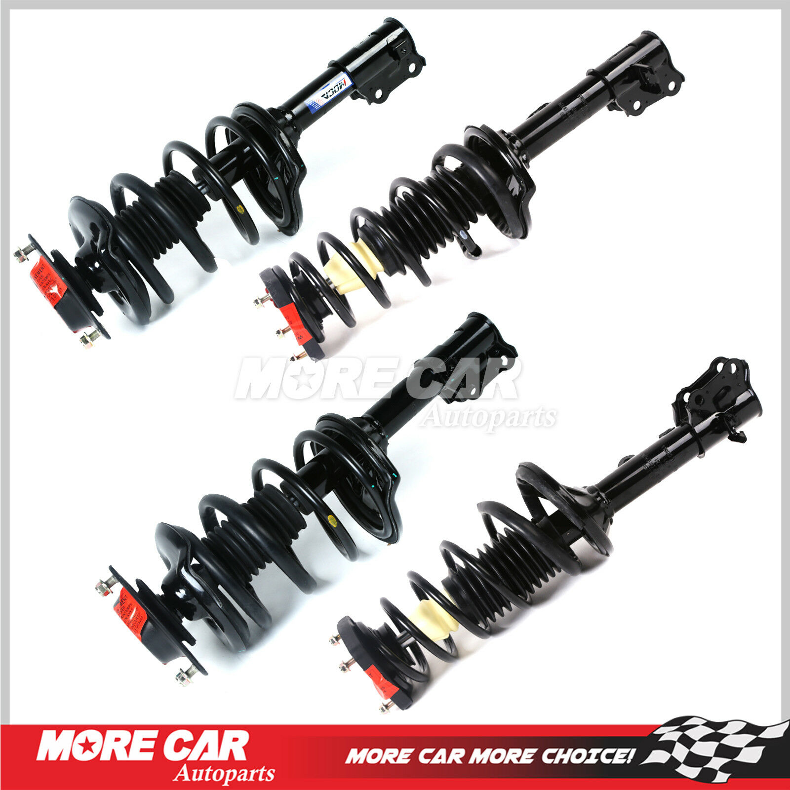 New Shock Absorber and Strut Assembly Rear Driver Left Side LH Hand 553512D100
