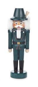 Mini-Nussknacker-Jaeger-NEU-Erzgebirge-Weihnachten-Wald-Hirsch-Baum-Holz-Miniatur