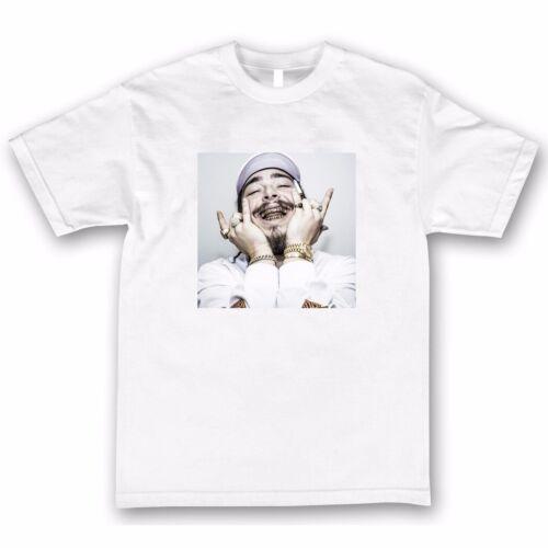Post Malone T Shirt Shirts Tee Hiphop Rap Stoney White Iverson Lil Uzi Quavo Vin