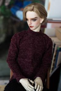 White Turtleneck Sweater Kint Coat For BJD 70cm SD17 Uncle  AS Luts dollfie G/&D