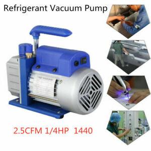 2.5CFM 1 Stage Refrigerant Vacuum Pump Air Conditioning Pumping Refrigeration