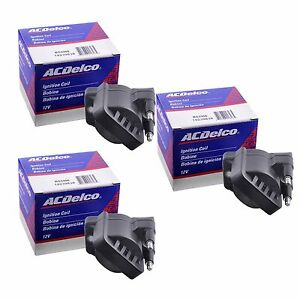 Details about New ACDelco Premium High Performance Ignition Coil Set (3)  D555 C1235 DR39