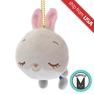 Japan Disney Store Judy Hopps Rabbit Zootopia Mocchi Soft Plush Keychain Mascot