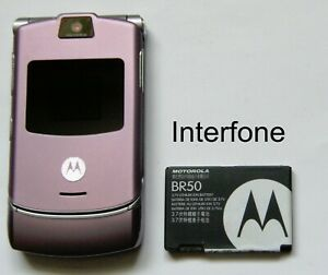 Motorola-V3-Mobile-Phone-T-Mobile-EE-Virgin-Exc-Cond-Optional-Charger-Bundle