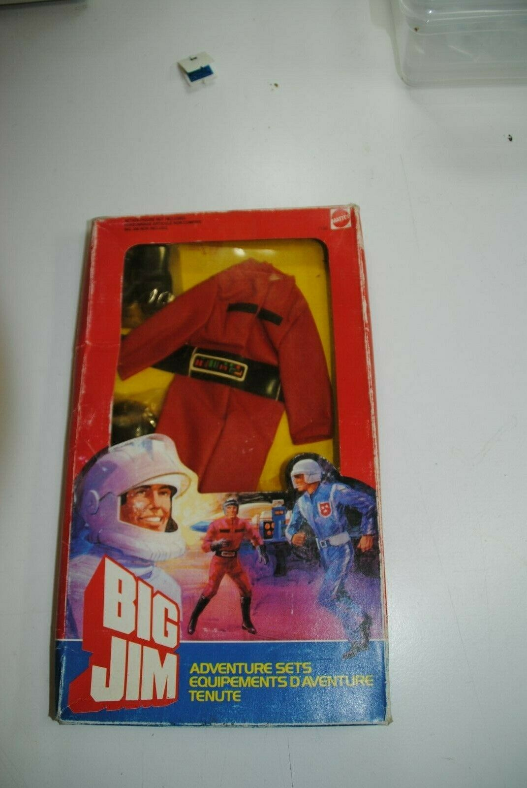 Big Jim adventure sets  Attaque conducteur de véhicule  Comme neuf IN BOX Rare Set