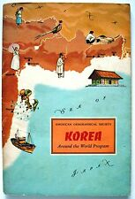 KOREA 1965 complete with colour stickers Shannon McCune Around the World Program