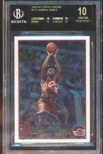 2003-04 Topps Chrome #111 LeBron James RC Rookie BGS 10 BLACK LABEL STUNNER