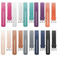 Replacement Silicone Band Rubber Strap Wristband Bracelet For Fitbit Charge 2