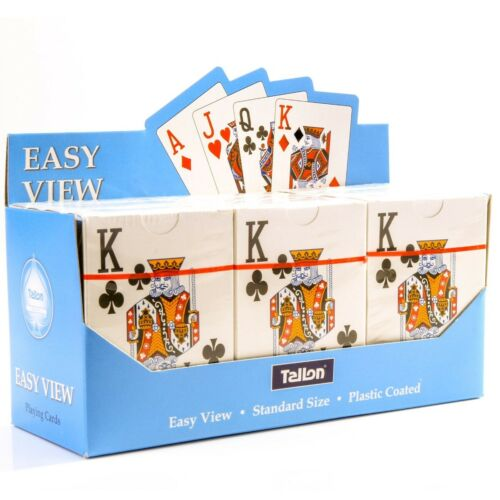 Full Deck EASY TO READ PLAYING CARDS Jumbo Index Poker Casino Classic Party Game