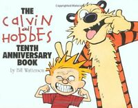 The Calvin And Hobbes Tenth Anniversary Book By Bill Watterson, (paperback), And on Sale