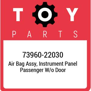 73960-22030-Toyota-Air-bag-assy-instrument-panel-passenger-w-o-door-7396022030