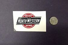 Lionel Post-War Custom Large Chicago and NorthWestern Shield Waterslide Decal