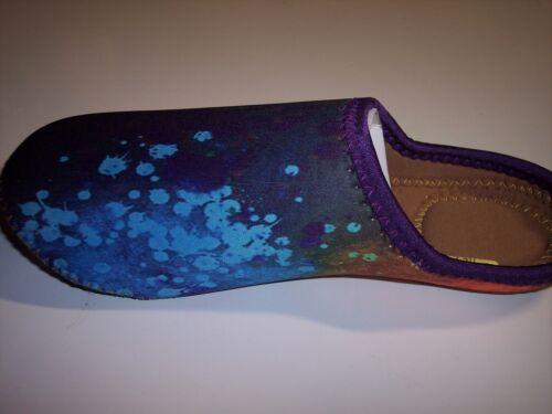 JanetBasket Neoprene Slippers 7-8-1//2   Mens 6-7-1//2 Medium  Ladies