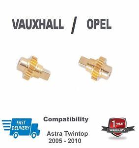 vauxhall opel astra twin top roof motor winglet cog/ gears brass 1