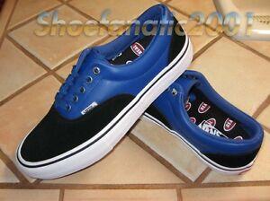 d9d28c72e3 Vans CA Era Pro Sample Real Skateboards 9 Black Red Blue Syndicate ...