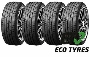 4X-Tyres-195-60-R15-88H-ROADSTONE-EUROVIS-SP04-C-B-71dB-Deal-of-Four-Tyres