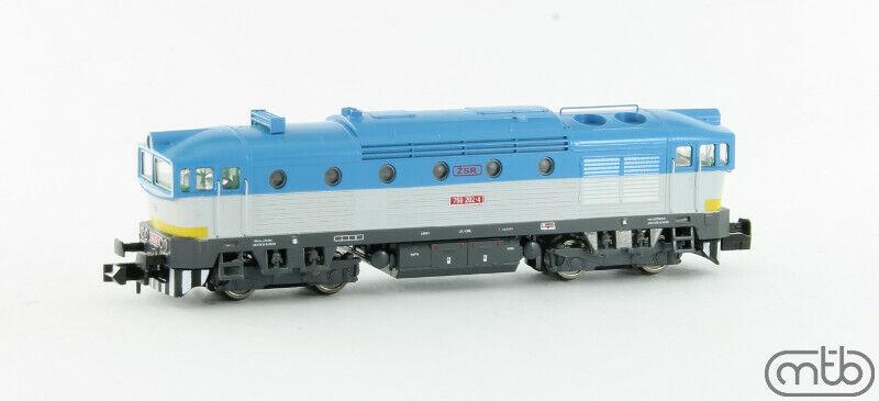 MTB N Scale Diesel locomotive class 750-202 ZSR