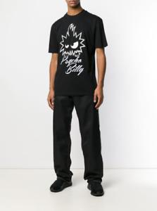 END-OFF-SUMMER-SALE-ALEXANDER-MCQUEEN-McQ-Black-Graphic-Print-T-shirt
