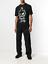 END-OFF-SUMMER-SALE-ALEXANDER-MCQUEEN-McQ-Black-Graphic-Print-T-shirt thumbnail 1