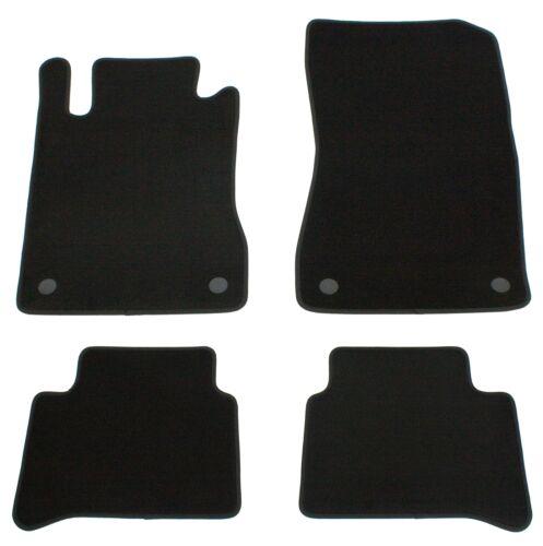 Fußmatten für Mercedes E-Klasse W211 S211 AMG Velours Qualität Autofußmatten Set